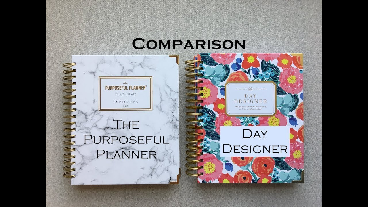 photo about Day Designer identified as Working day Designer vs Useful Planner Comparison