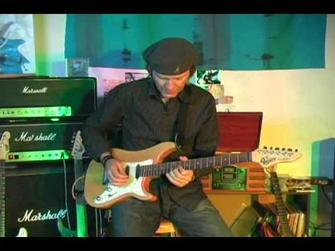 Craig Erickson Minor Blues Warm up Jam