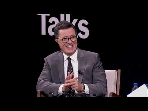 Stephen Colbert Discusses