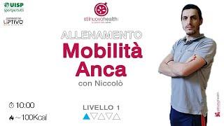 Mobilità Anca - Livello 1 - 1