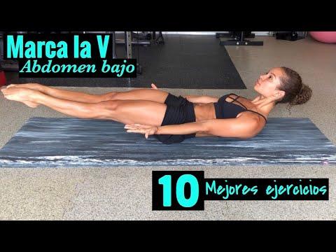RETO ABDOMINAL 30 DÍAS/ SEMANA #4 DIA 4/ Ejercicios para el abdomen bajo/ Como marcar la V
