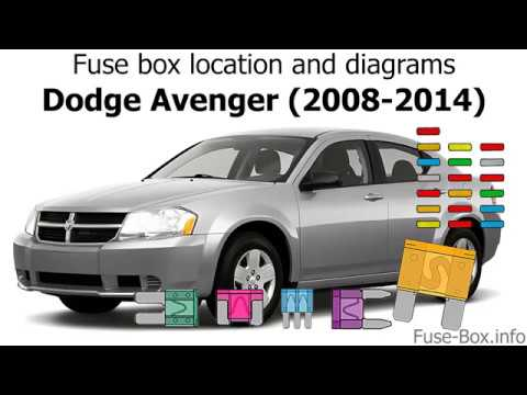 Fuse box location and diagrams: Dodge Avenger (2008-2014) - YouTubeYouTube