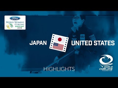 HIGHLIGHTS: Japan v United States – Round-robin – Ford World Women's Curling Championship 2018