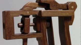 木の板バネ銃2010 Wooden Toy Gun