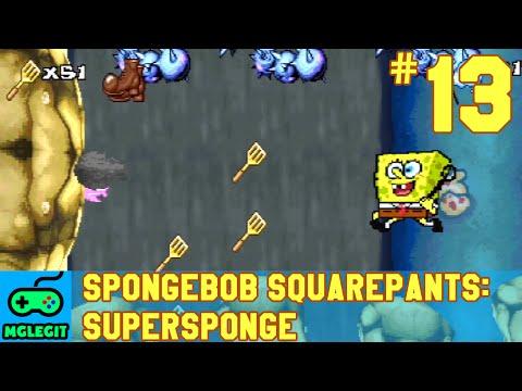SpongeBob SquarePants SuperSponge Walkthrough Part 13 - Road to Rock Bottom (PS1) (No Commentary)