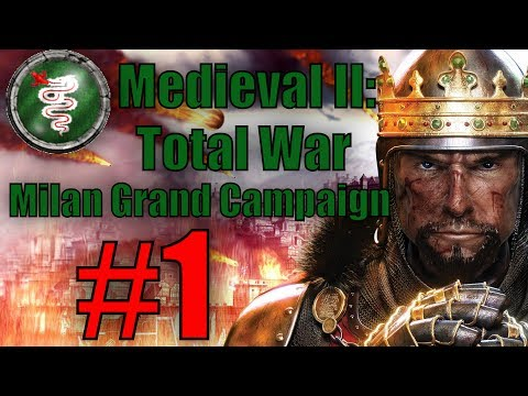 Medieval II: Total War: Milan Grand Campaign #1