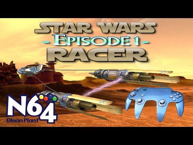 Star Wars : Episode 1 Racer - Nintendo 64 Review - HD