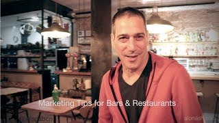 Marketing tips for bars & Restaurants