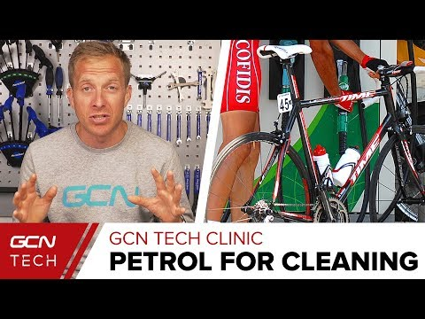 Is Petrol A Good Cleaner? | GCN Tech Clinic