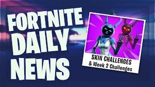 *LEAKED* SKIN & WEEK 2 CHALLENGES - Fortnite Daily News (11 Mai 2019)