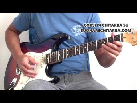 Tutorial Chitarra - Una Canzone per Te - Vasco Rossi - Lezioni di Chitarra