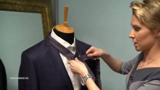 как завязывать галстук узлом Виндзор  видео про Галстук