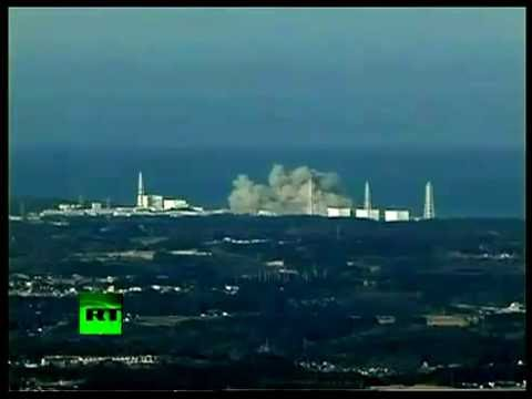 Footage of Fukushima nuclear plant, Japan Nuclear Explosion