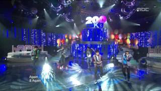 2PM - Again & Again, 투피엠 - 어게인 어게인, Music Core 20100220