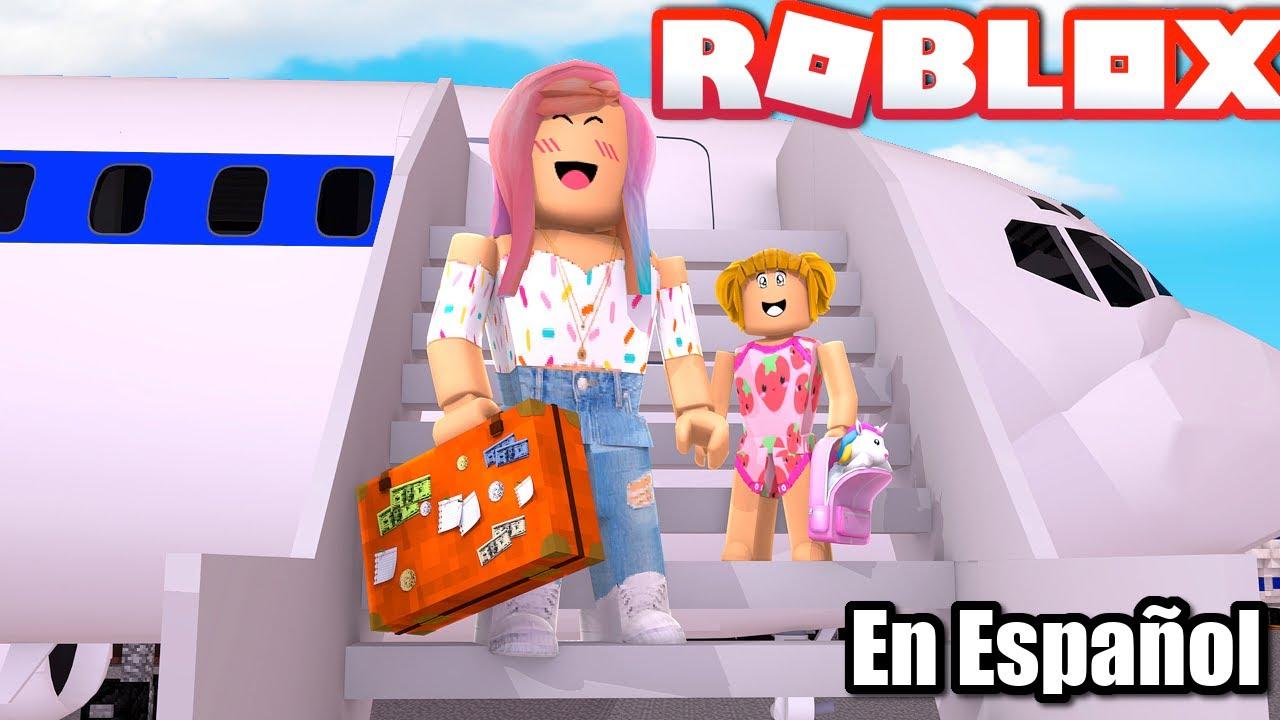 Goldie & Titi Viajan en Avion en Roblox - Rutina de Viaje Roleplay - Titi Juegos