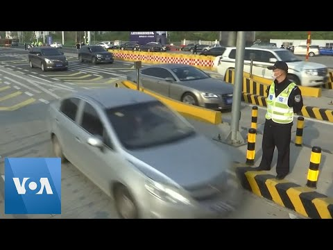 People Drive Out Of Wuhan For First Time In Months