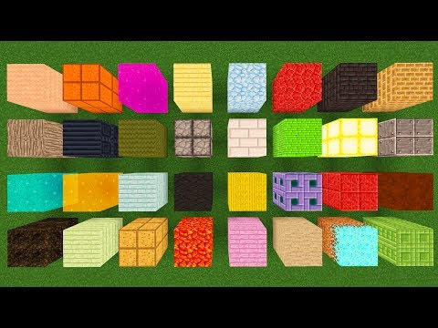 200 NEW Blocks Minecraft 1.12 is MISSING