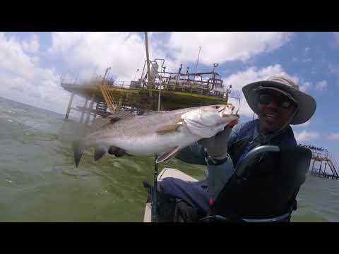 Saint Leon Tx Trophy 5 Miles Out On Hooked Up Fishing