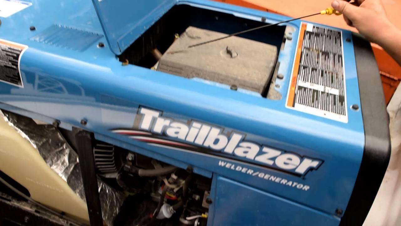 miller trailblazer 325 100 hr update and oil change