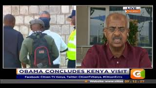 Abbas Gullet on Obama concludes his Kenya visit #CitizenExtra