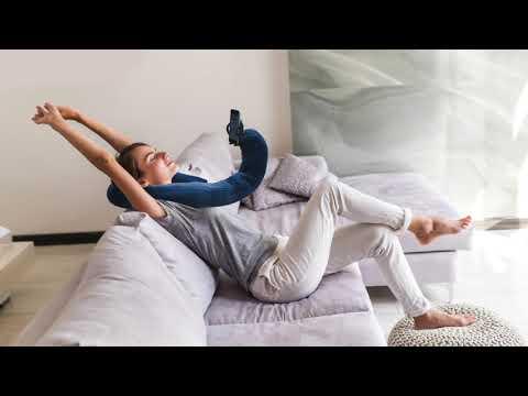 【 Mobile pillow 】ゴロゴロ快適スマホライフ モバイルピロー