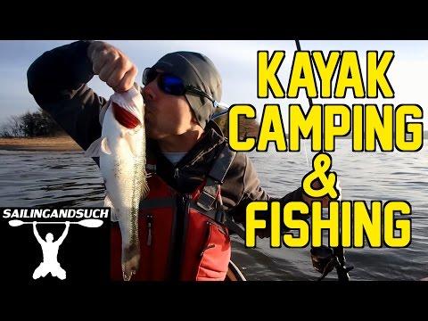 Kayak Fishing and Camping at Lake Eufaula, Alabama