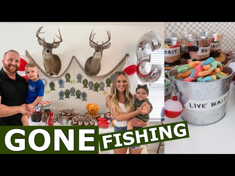 BRODY'S FISHING BIRTHDAY PARTY | Amanda Little
