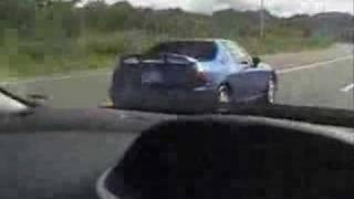 Honda del Sol vs Toyota Yaris Funny Race ARABA YARISLARI GUT