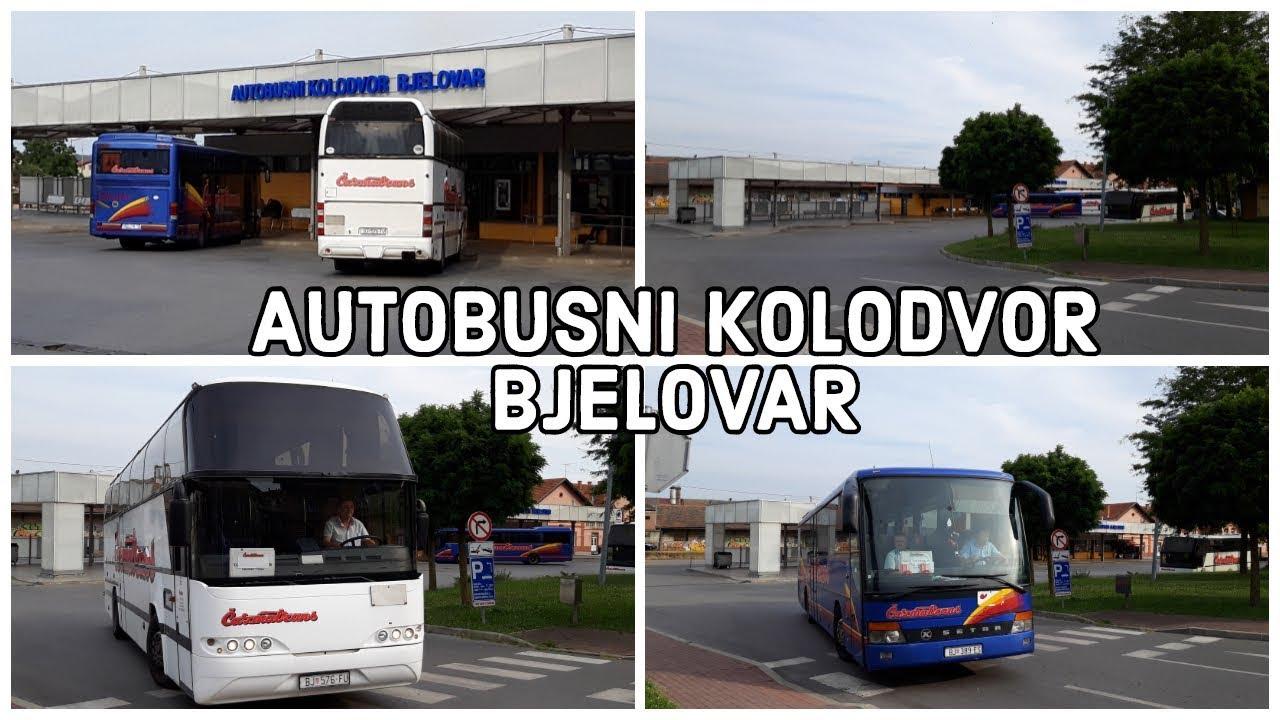 Autobusni Kolodvor Bjelovar Polasci Autobusa Cazmatransa Youtube