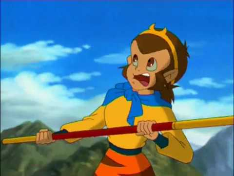Китай мультфильм царь обезьян