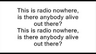 Bruce Springsteen - Radio Nowhere @ Lyrics