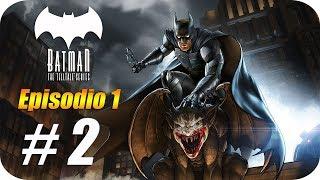 BATMAN The Telltale Series [T2] The Enemy Within [Episodio 1] Parte 2 - Nuevo Juego en la Ciudad