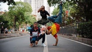 Spin, Kid Karam & Infante at KOD World Final