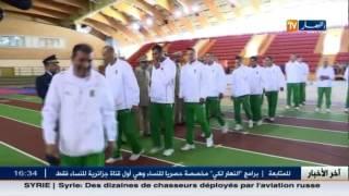 المنتخب العسكري يفوز على قطر في أولى مبارياته بالبطولة العالمية