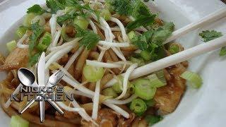 Chicken Satay Noodles - Video Recipe