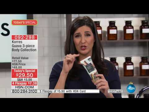 HSN | KORRES Beauty 12.21.2016 - 11 AM