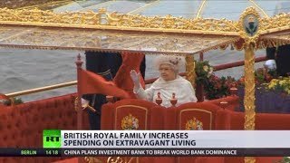 Hidden expenses make UK monarchy world