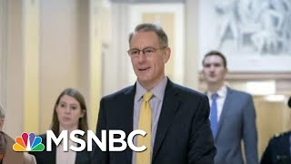 Transcript Shows OMB Resignations Over Trump Hold On Ukraine Aid | Rachel Maddow | MSNBC