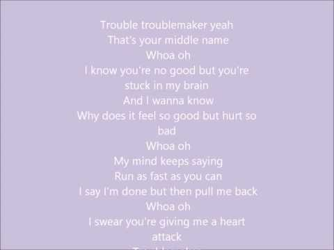 Olly Murs feat. Flo Rida - Troublemaker (Lyrics)