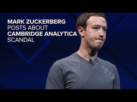 Zuckerberg posts about Cambridge Analytica (CNET News)