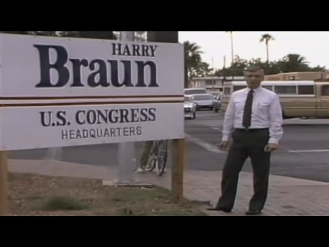 Harry Braun ran for Congress in 1984 on a Hydrogen Platform