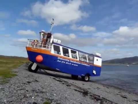 """Amphibious 48 passenger/cargo boat """" Valentia Harbour Tours"""""""