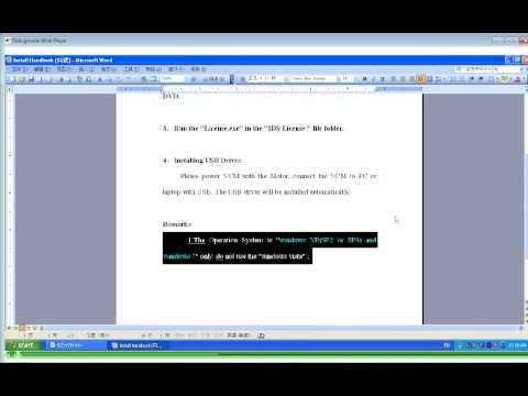 FORD VCM IDS: IDS Software Installation Video Step 1/2