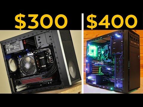 $300, $400 GAMING PCS! - CHEAP Budget Builds November 2016!