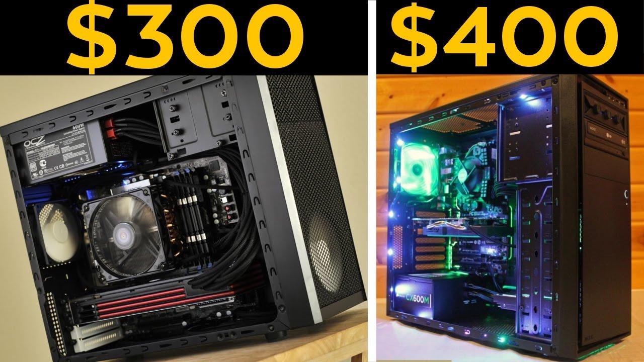 $300, $400 GAMING PCS! - CHEAP Budget Builds November 2016! - YouTube