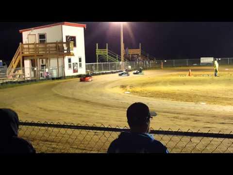 Nick racing at KC Raceway 9-19-15
