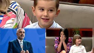 Femijet fenomenale Deon Gjoni & Marge Pellumbi ne ABC e Pasdites | ABC News Albania