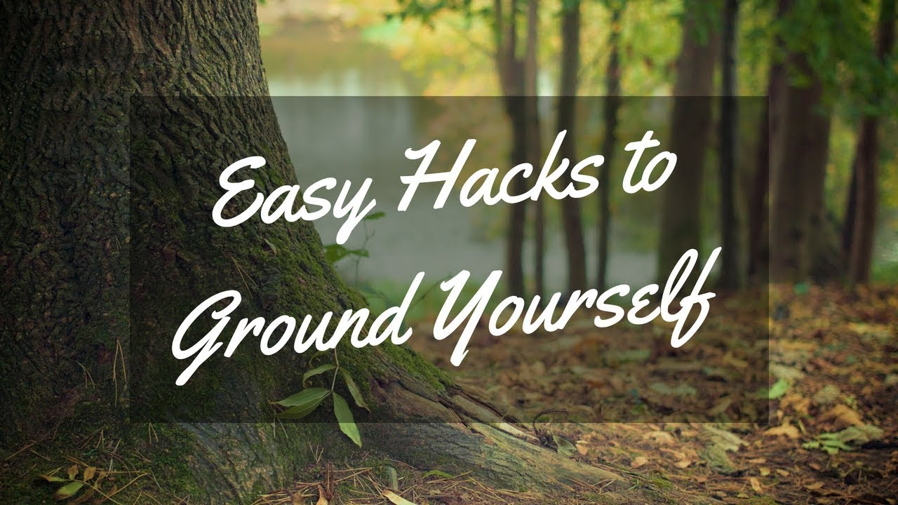 easy way to ground yourself