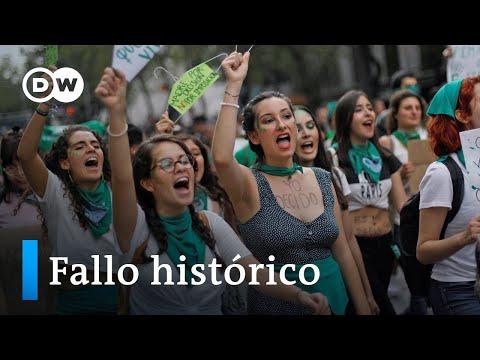 Histórico: México despenaliza el aborto