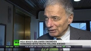 Ralph Nader: Snowden ceremony ignored by mainstream media